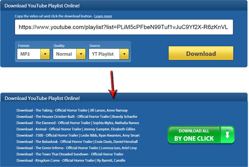 Download YouTube Playlist - Online & Easy