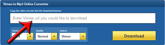 How to Download and convert Vimeo Videos to Mp3 Online